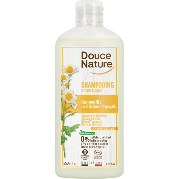 Shampooing cheveux blonds ravive l'éclat – 250 ml – Douce Nature