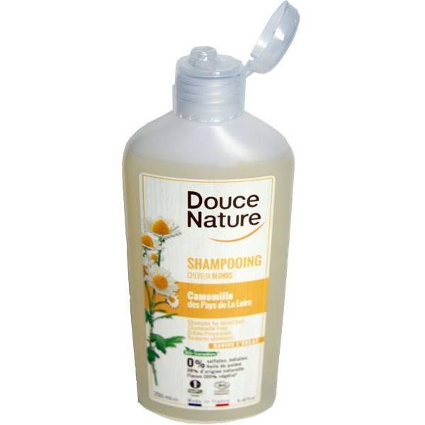 Shampooing cheveux blonds ravive l'éclat – 250 ml – Douce Nature - Vue 1