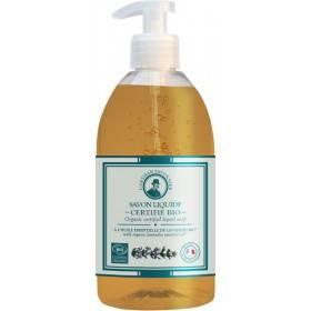 Savon liquide à l'huile essentielle de Lavandin Bio – 500 ml – l'Artisan Savonnier