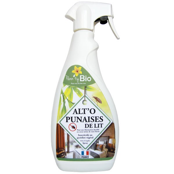 ALT'O'PUNAISES de lit – insecticide – spray 750 ml – Penntybio