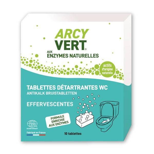 Tablettes WC détartrantes effervescentes – 200 gr - Arcyvert