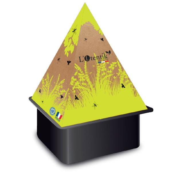 Pyramide piège à moustiques et mouches - 0% biocide - L'Otentik