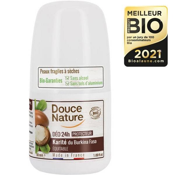Déodorant bille Karité équitable du Burkina faso  – 50 ml – Douce Nature