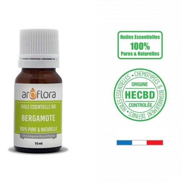 Bergamote AB - Fruits - 10 ml - Huile essentielle Aroflora - Vue 1