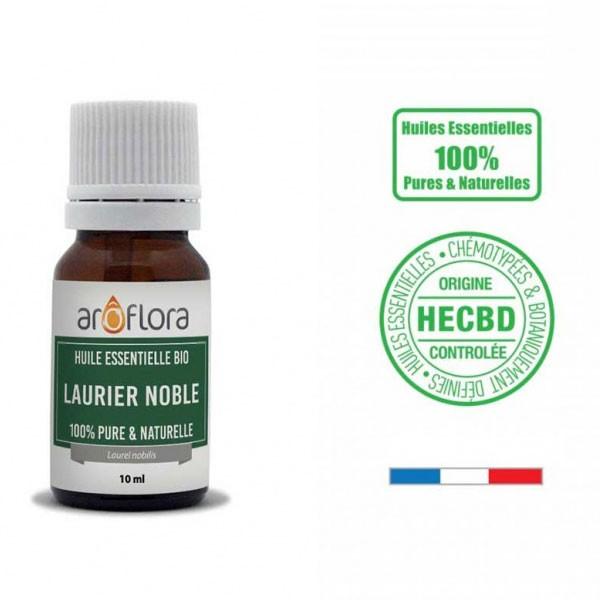 Laurier noble AB - Feuilles - 10 ml - Huile essentielle Aroflora - Vue 1