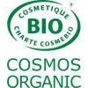 Logo Cosmos Organic pour le shampooing solide cheveux colorés Rose et Argan Bio - 85gr - Cosmo Naturel