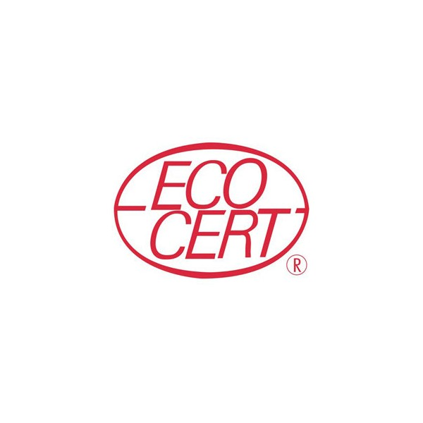 Logo Ecocert pour le shampooing solide cuir chevelu sensible Amande douce bio - 85gr - Cosmo Naturel
