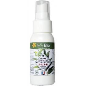 Spray lotion anti-insectes pour la peau bio 50 ml - Penntybio