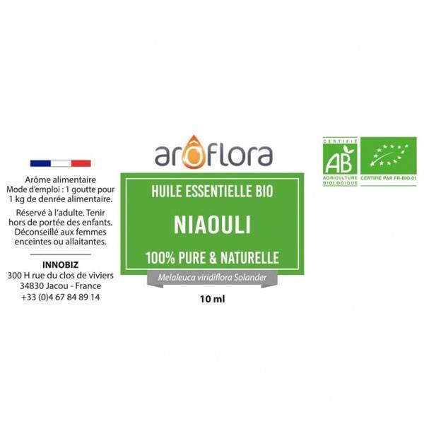 Niaouli AB - Feuilles - 10 ml - Huile essentielle Aroflora - Vue 2