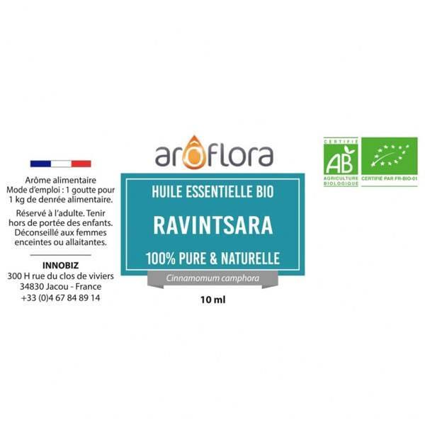 Ravintsara AB - Feuilles - 10 ml - Huile essentielle Aroflora - Vue 2