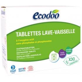 Tablettes lave vaisselle écologiques - 30 tablettes - Ecodoo