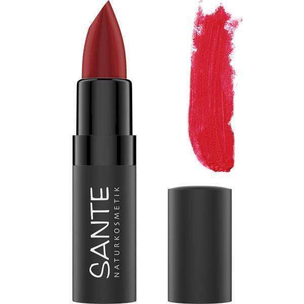 Rouge à lèvres mat 07 Kiss me Red – 4,5 grs – Santé