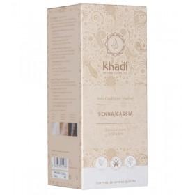 Soin pour coloration naturelle aux plantes Senna/Cassia - 100 gr - Khadi