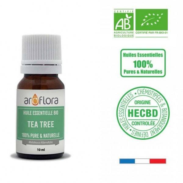 Tea tree AB - Feuilles - 10 ml - Huile essentielle Aroflora - Vue 1