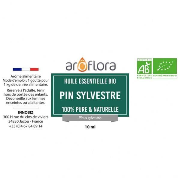 Pin sylvestre AB - Aiguilles - 10 ml - Huile essentielle Aroflora - Vue 2