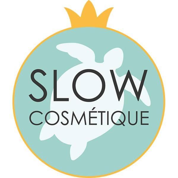 Logo Slow Cosmétique pour le nettoyant visage solide pour peau sèche et sensible Lamazuna