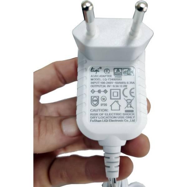 Adaptateur blanc pour brumisateur CERALIA, ELIA et AUDELIA - output 24V - 500mA - Vue 1