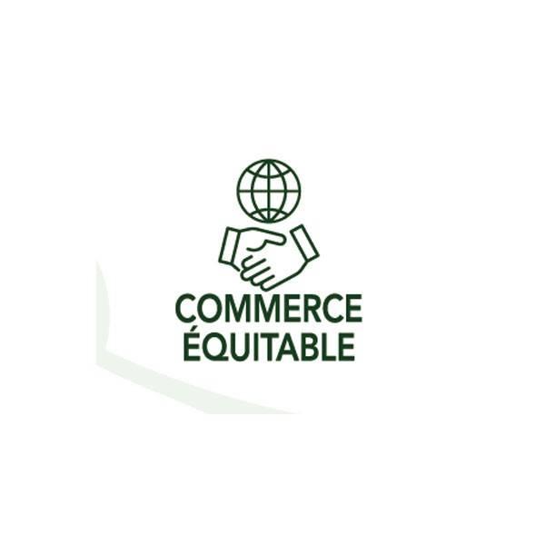 Logo Commerce équitable pour la Coloration végétale Châtain foncé auburn n°3.4 - 100 gr - Emblica