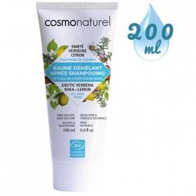Baume démêlant après shampooing - Karité Verveine Citron – 200 ml - Cosmo Naturel