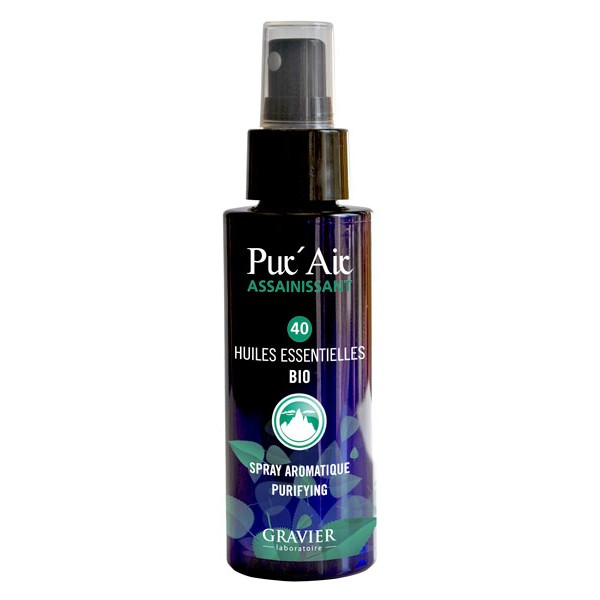 Spray aromatique assainissant Pur'Air aux 40 huiles essentielles - 100 ml