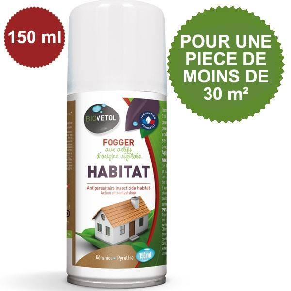 Fogger Habitat aux actifs d'origine végétale - Pièce de moins de 30 m² - Biovétol