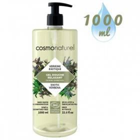 Gel bain & douche Relaxant Verveine exotique – 1000 ml – Cosmo Naturel