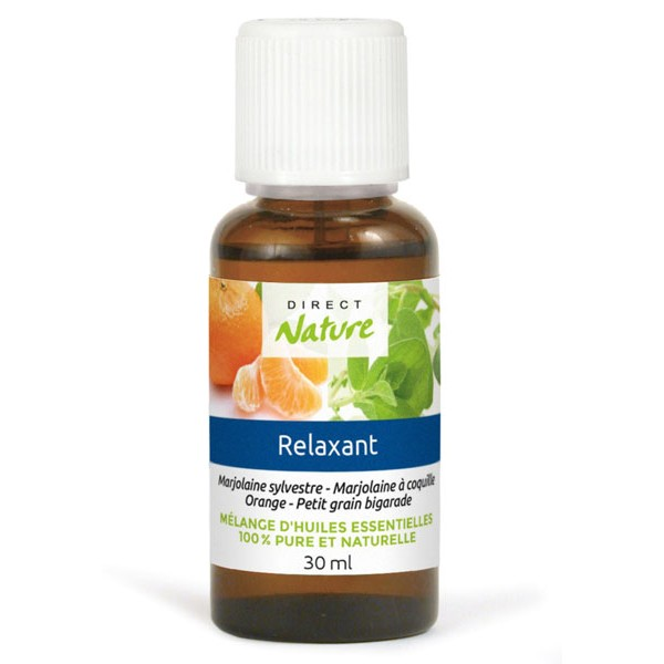 Pack Relaxation - Synergie Relaxant 30 ml - Direct Nature
