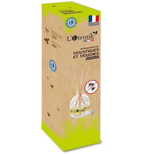 Diffuseur répulsif anti-moustiques et anti-mouches - L'Otentik - Vue 1