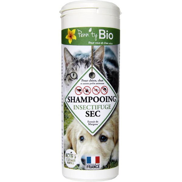 Shampooing sec insectifuge - 150 gr - Penntybio