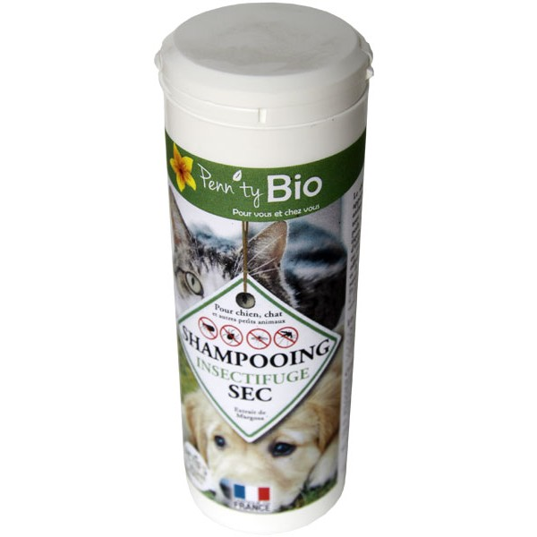 Shampooing sec insectifuge - 150 gr - Penntybio - Vue 1