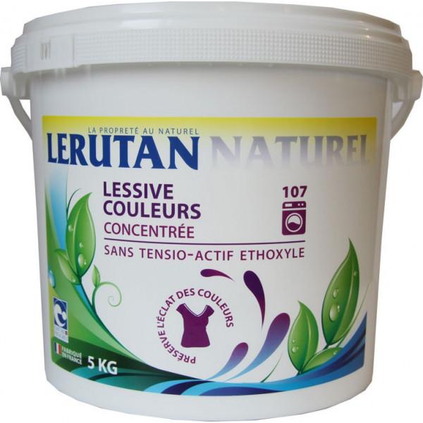 Lessive poudre couleurs 5kg - Lerutan