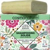Shampooing solide cheveux antipelliculaire Rhassoul Cade Sauge Bio - 85gr - Cosmo Naturel