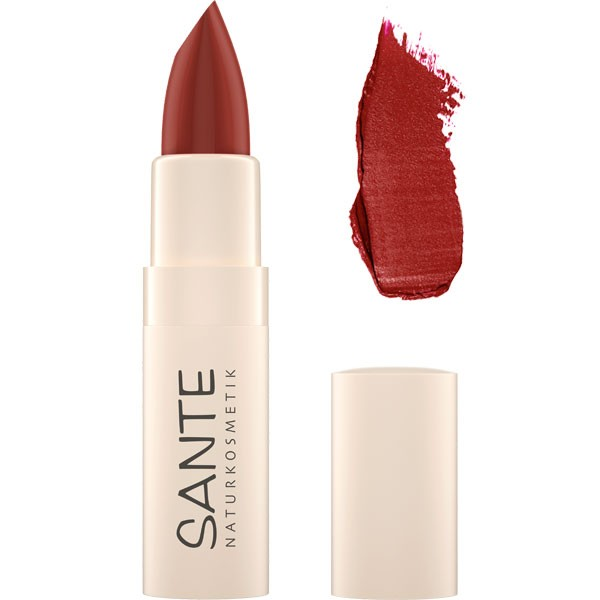 Rouge à lèvres hydratant 06 Hazel Red - 4,5 gr - Maquillage Sante