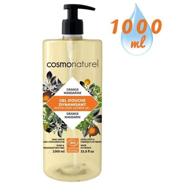 Gel bain & douche Fruité Mandarine Orange – 1000 ml – Cosmo Naturel