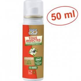 Aérosol insecticide naturel Tous Insectes - Pistal – 50 ml - Aries