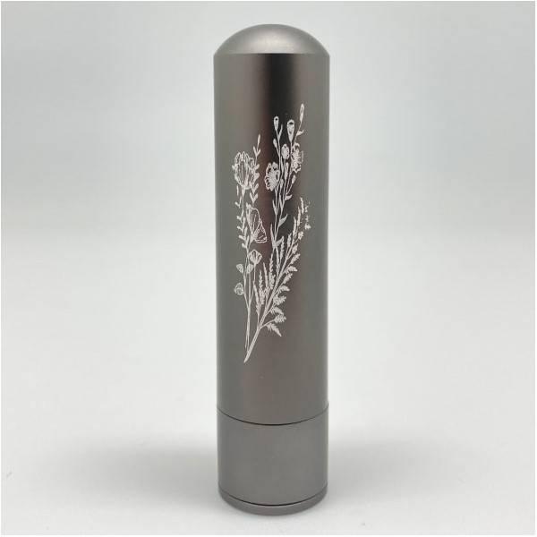 Diffuseur inhalateur Inalia d'huiles essentielles en aluminium - Gris - Innobiz - Vue 5