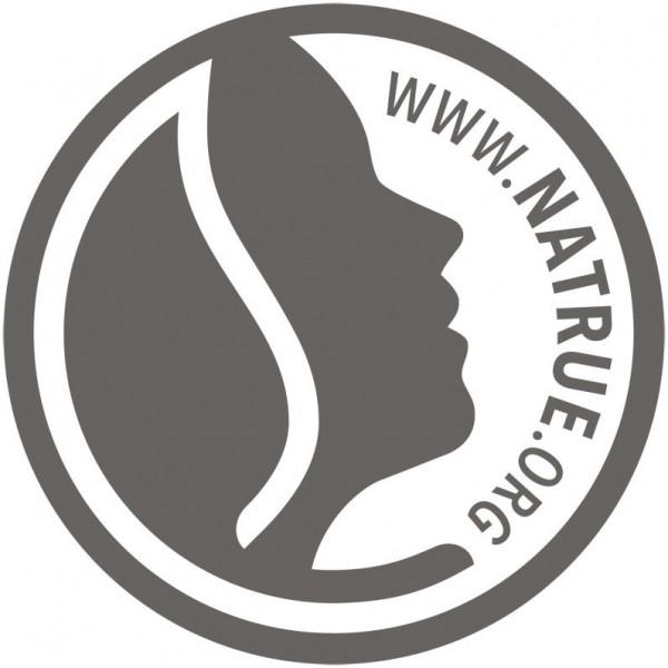 Logo Natrue pour la mousse à raser Homme Bio Aloé – 150ml - Sante