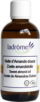 huile végétale d'amande douce ladrôme