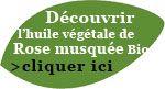 Achetez de l'huile végétale de rose musquée biologique