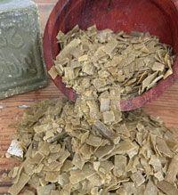 Copeaux de savon de Marseille pour l'entretien du linge