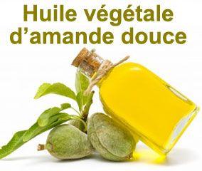 L'huile végétale d'amande douce bio