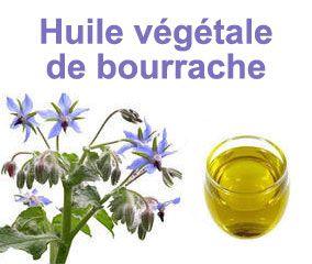 L'huile végétale de Bourrache bio