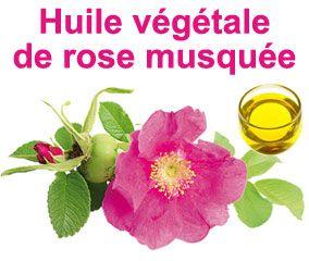 L'huile végétale de Rose musquée bio