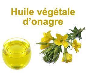 L'huile végétale d'Onagre bio