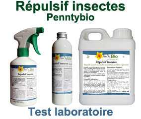 Test du répulsif insectes Penntybio PRO 2