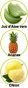 Actifs pour le gel douche Ananas Citron