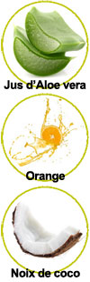 Actifs pour le shampooing Orange Coco