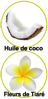 actifs huile de soin Coco Praïa Monoï
