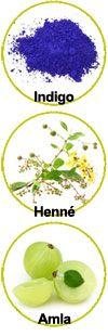 Actifs Indigo, Henné et Amla