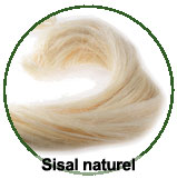 Le sisal naturel